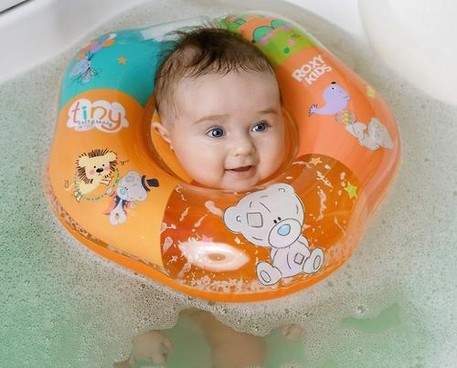 Надувной круг на шею Roxy Kids для купания малышей Teddy Every Day (12)