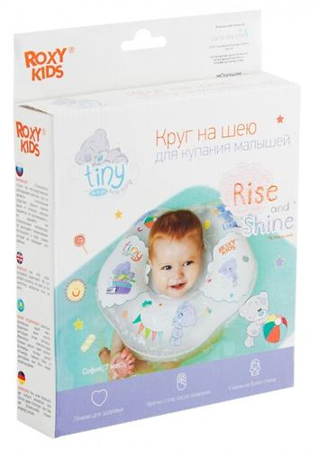 Надувной круг на шею Roxy Kids для купания малышей Teddy Every Day (11)