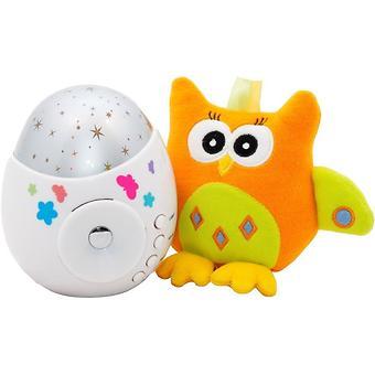 Проектор звездного неба Roxy Kids COLIBRI с совой в подарок - Minim
