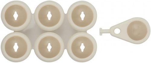 Набор заглушек для розеток Roxy-Kids ABS-пластик (5)
