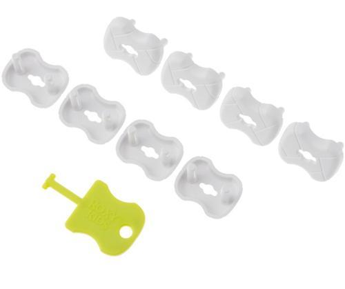 Набор заглушек Roxy Kids для розеток Белые 8 шт/уп (5)