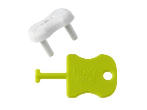 Набор заглушек Roxy Kids для розеток Белые 8 шт/уп (6)