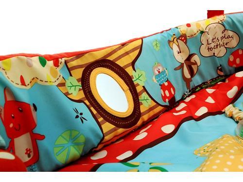 Развивающий коврик Roxy Kids Лисичка и ее друзья с бортиками (10)