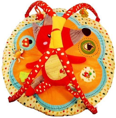 Развивающий игровой коврик Roxy Kids Лисичка и ее друзья с дугами (8)
