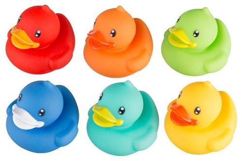 Набор игрушек Roxy Kids для ванной Уточки 6 игрушек (4)