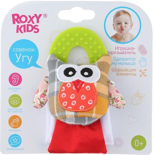 Игрушка развивающая Roxy kids на руку с прорезывателем Совенок Угу (10)