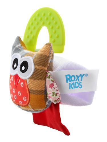 Игрушка развивающая Roxy kids на руку с прорезывателем Совенок Угу (8)