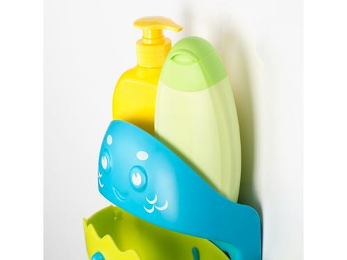 Органайзер-сортер Roxy Kids Dino с полочкой для хранения игрушек и банных принадлежностей Зеленый (17)