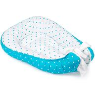 Кокон-гнездо Roxy Kids для новорожденных цвет - голубой