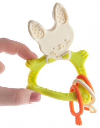 Прорезыватель универсальный Roxy Kids BunnyЗеленый (8)