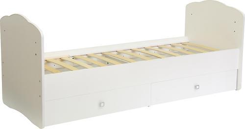 Кроватка детская Фея 2100 Белый (6)