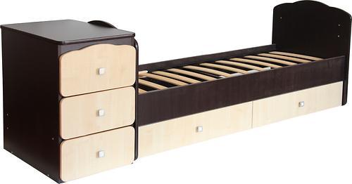 Кроватка детская Фея 2100 Венге-клен (5)