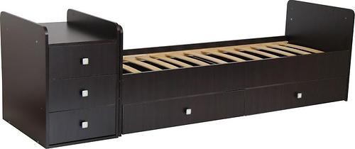 Кроватка детская Фея 1100 Венге (6)
