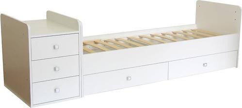Уценка! Кроватка детская Фея 1100 Белый (6)