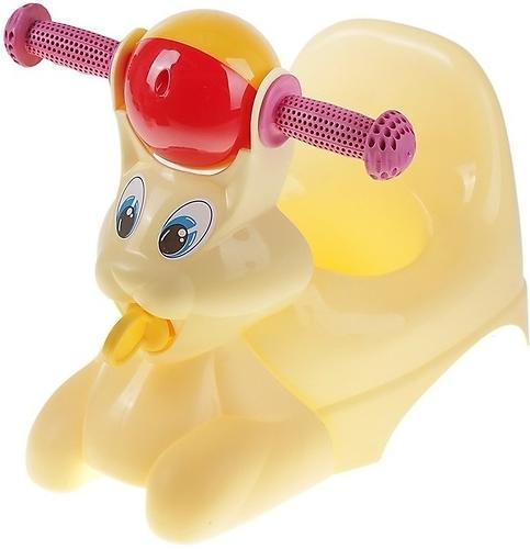 Горшок-игрушка Зайчик Желтый (1)