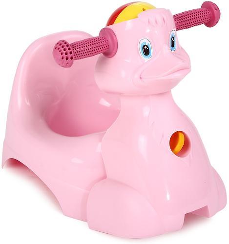 Горшок-игрушка Уточка Розовый (1)
