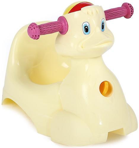 Горшок-игрушка Уточка Желтый (1)
