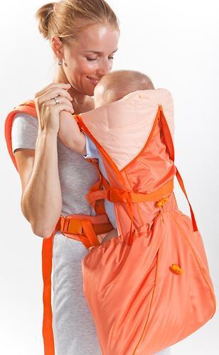 Кенгуру-рюкзак Чудо-Чадо Baby Active Luxe (бежевый) (4)