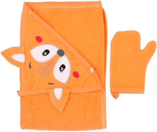 Полотенце Koala для купания Stworek Оранжевое (1)