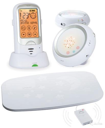 Радионяня Ramili Baby с двумя детскими блоками и монитором дыхания RA300DuoSP (6)
