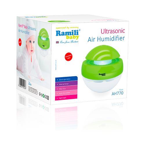 Ультразвуковой увлажнитель воздуха Ramili Baby для детской AH770 (8)