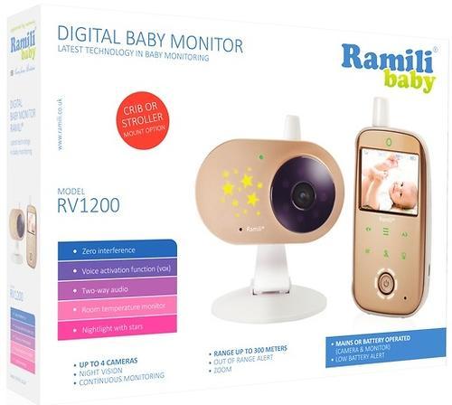 Видеоняня с монитором дыхания Ramili Baby RV1200SP (9)