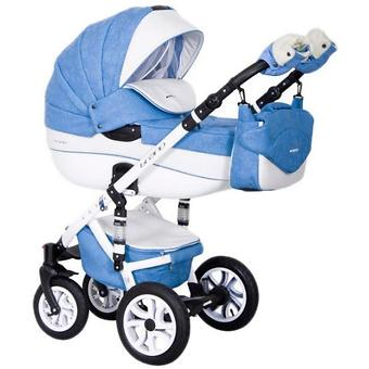 Коляска 3 в 1 Riko Brano Ecco цвет 16 Sky blue - Minim