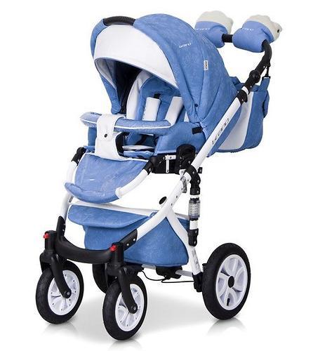 Коляска 3 в 1 Riko Brano Ecco цвет 16 Sky blue (16)