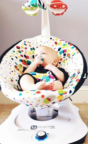 Кресло-качалка 4moms RockaRoo Multi Plush (7)