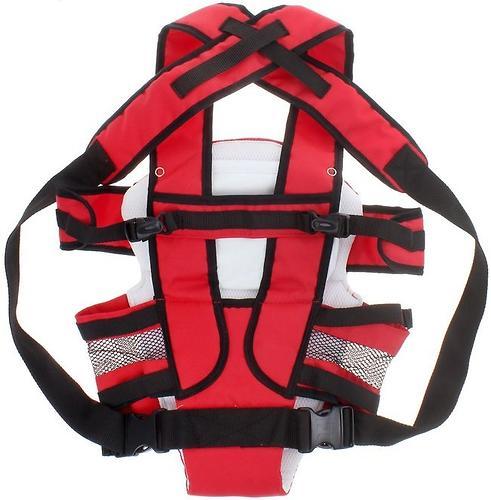 Рюкзак-кенгуру Selby Люкс Красный (7)