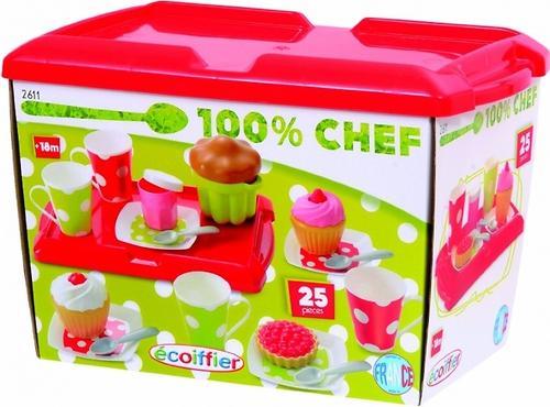 Simba Набор посудки для завтрака в коробке с подносом, 25 предм. (4)