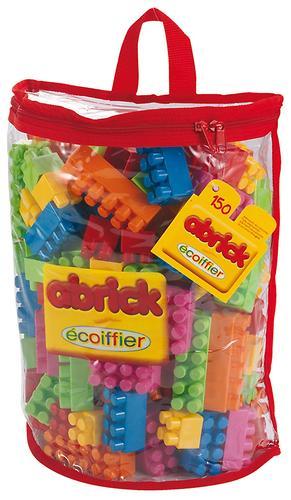 Abrick Кубики для конструирования в сумке 150 деталей (1)