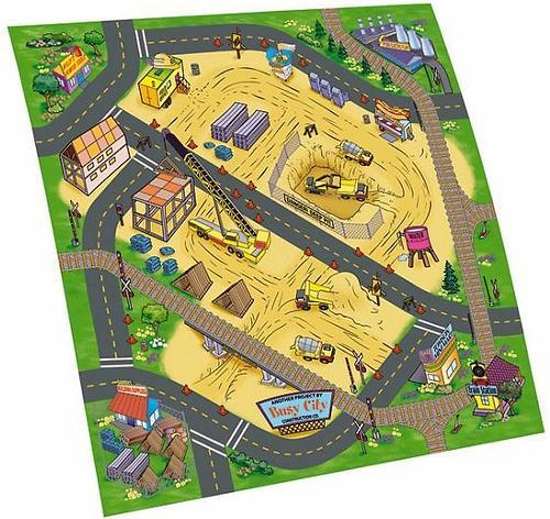 Игровой коврик Dickie +1 машинка (12)