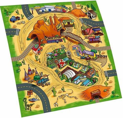 Игровой коврик Dickie +1 машинка (14)