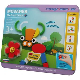 Магнитная мозаика Magneticus Ферма - Minim