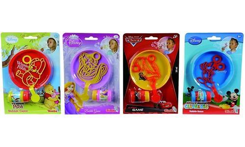 """Simba Мыльные пузыри """"Disney"""" 4 вида (4)"""