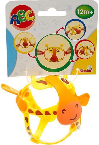 Игрушка стрейчевая Simba Жираф 11 см (4)