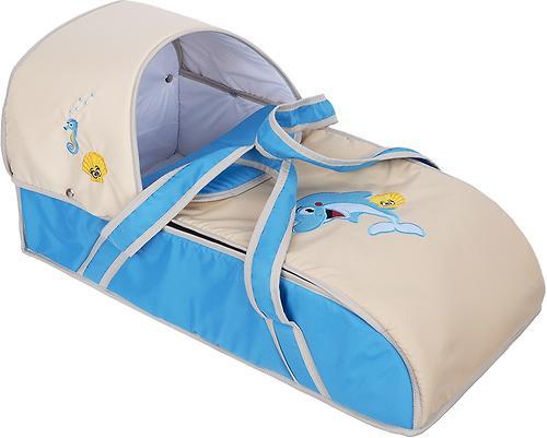 Люлька-переноска Slaro для ребенка Дельфинчик (3)
