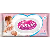 Салфетки влажные Smile 72 шт с клапаном