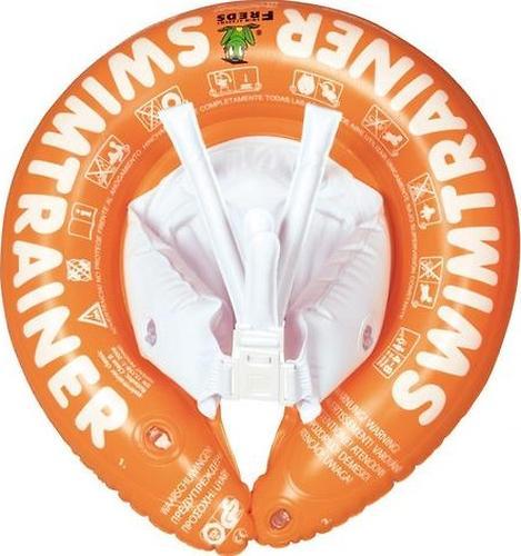 Надувной круг для плавания Swimtrainer оранжевый от 2 до 6 лет (4)