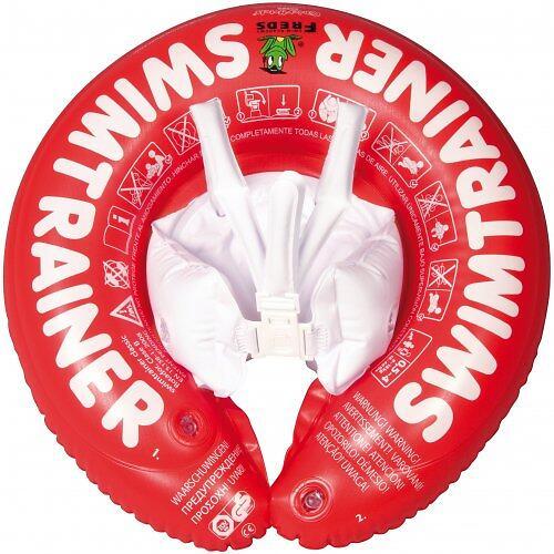 Надувной круг для плавания Swimtrainer красный от 3 мес. до 4 лет (6)
