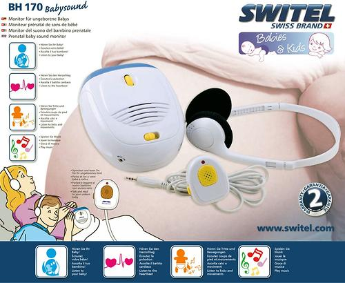 Стетоскоп электронный для будущей мамы Switel BH170 (4)