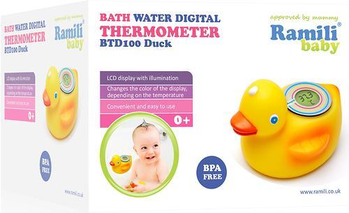 Термометр для ванной Ramili BTD100 Duck (4)