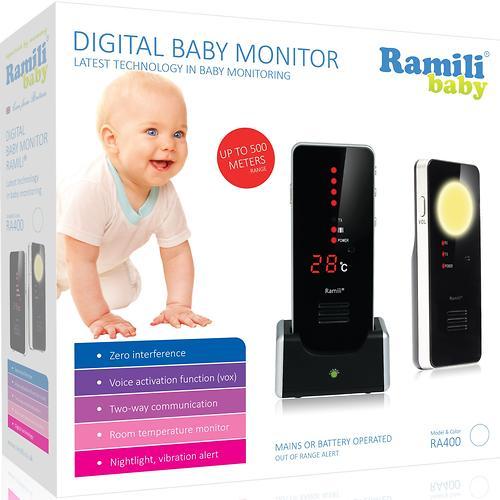 Радионяня Ramili Baby RA400 Black (6)