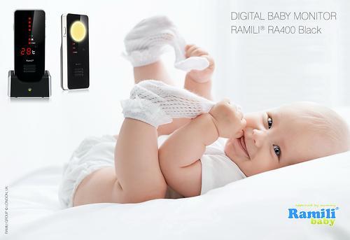 Радионяня Ramili Baby RA400 Black (5)