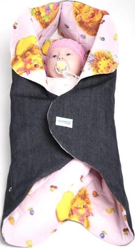 Конверт детский Ramili Denim Style Pink (4)