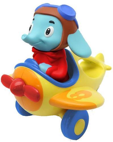 Игрушка TOMY музыкальный слон в самолете Counting with Luke the Loop (7)