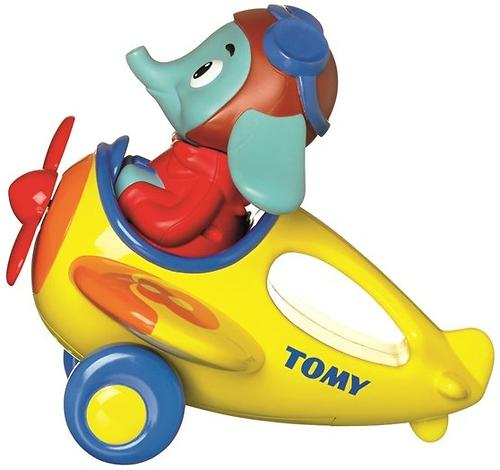 Игрушка TOMY музыкальный слон в самолете Counting with Luke the Loop (11)