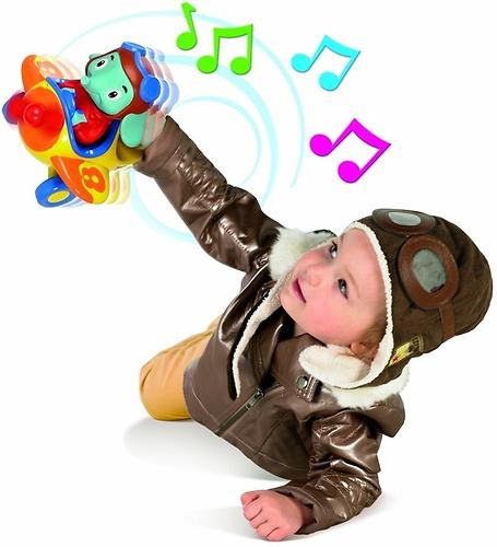 Игрушка TOMY музыкальный слон в самолете Counting with Luke the Loop (9)
