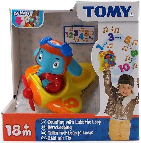 Игрушка TOMY музыкальный слон в самолете Counting with Luke the Loop (8)